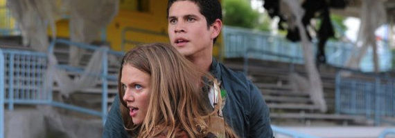 JD Pardo and Tracy Spiridakos in Revolution The Plague Dogs1 Revolution Season 1, Episode 4: The Plague Dogs Recap