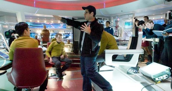 JJ Abrams on Star Trek set J.J. Abrams Directing Star Wars: Episode 7 [UPDATED]