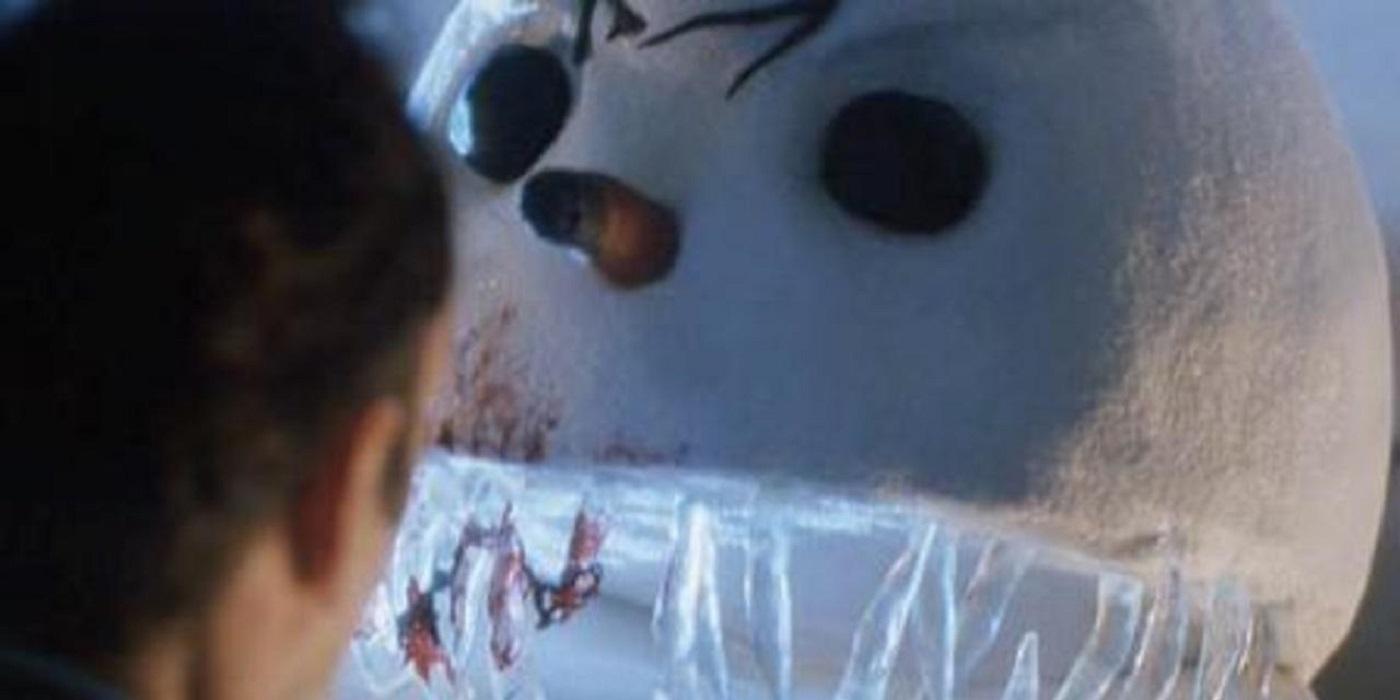 Jack Frost horror movie snowman