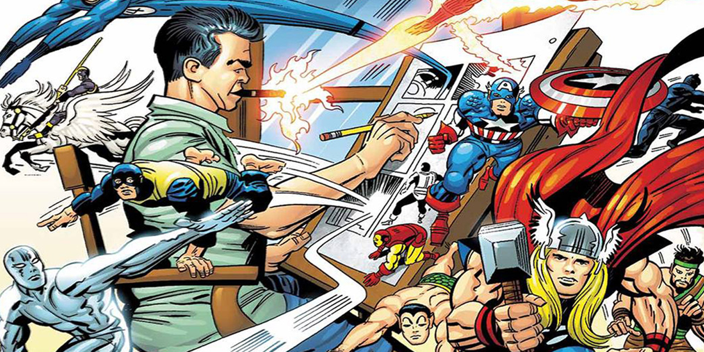 Jack Kirby Marvel Characters