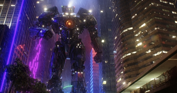 Jaeger Gypsy Danger in Pacific Rim  Pacific Rim Review