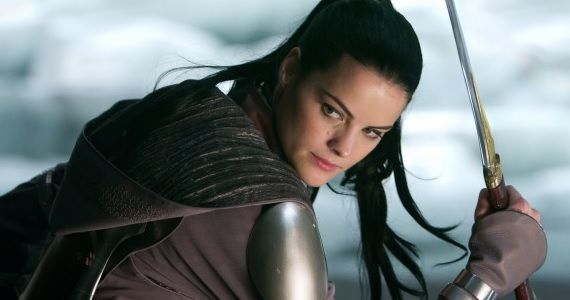Jaimie Alexander as Lady Sif in Thor Jaimie Alexanders Lady Sif Appearing on Agents of S.H.I.E.L.D.