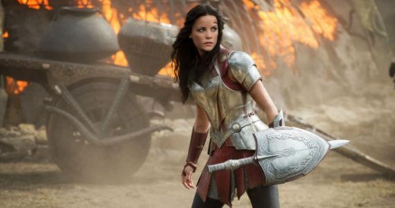 Jaimie Alexander as Sif in Thor 2