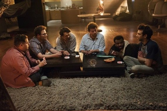 James Francos House This is the End 570x379 This is the End Cast Interview: Apocalypse, Grisly Deaths, & Playing Themselves