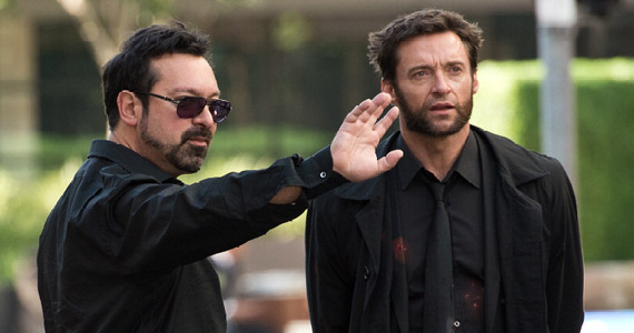 James Mangold directing Hugh Jackman in Japan The Wolverine The Wolverine Set Interview: Director James Mangold