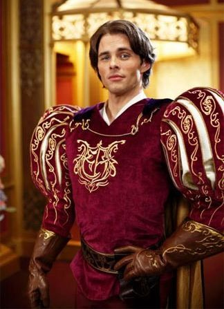 James Marsden as Prince Edward in Enchanted Will Sasso Locked As Curly In The Three Stooges; More Casting Rumors