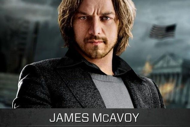 James McAvoy as Charles Xavier 634x425 Mutants Clash in X Men: Days of Future Past Images
