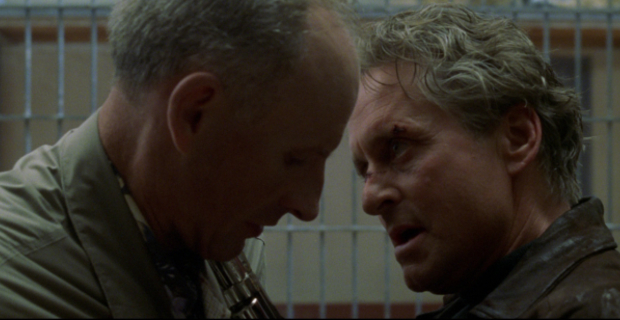 James Rebhorn with Michael Douglas in The Game Homeland Actor James Rebhorn Passes Away at 65