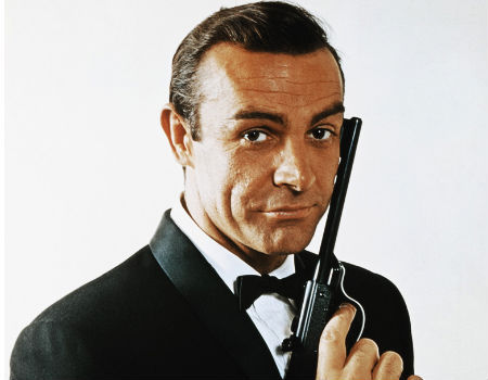 Sean Connery in James Bond