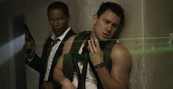 Jamie Foxx Channing Tatum White House Down White House Down Review