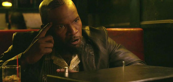 Jamie Foxx Django Unchained Jamie Foxx to Write & Direct New Syfy Horror Anthology Series