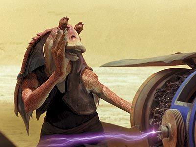 Jar Jar Binks in Star Wars Episode 1 The Phantom Menace Star Wars: Episode I Officially Set For 3D Re Release In February 2012