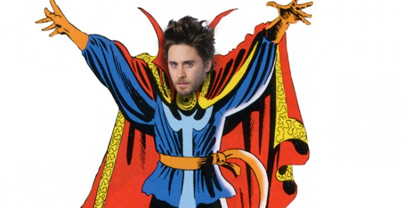 Jared Leto as Doctor Strange 570x294 Doctor Strange Rumor: Will Jared Leto Play the Sorcerer Supreme?