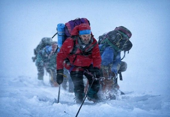 Jason Clarke in Everest 570x392 First Everest Image Revealed as True Life Adventure Movie Begins Filming
