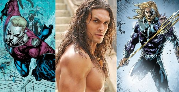 Jason Momoa as Aquaman in Batman vs Superman and Justice League Movie Jason Momoa Aquaman Rumor Raises Justice League Casting Questions