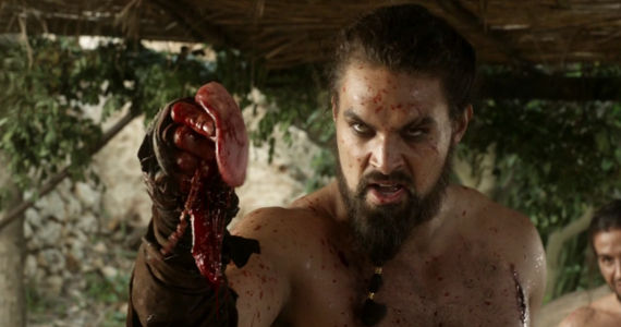 Jason Momoa as Khal Drogo Jason Momoa Denies Batman vs. Superman Casting Rumor