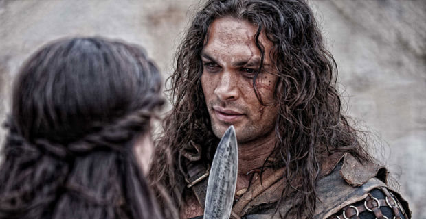 Jason Momoa in Conan the Barbarian Jason Momoa Denies Batman vs. Superman Casting Rumor