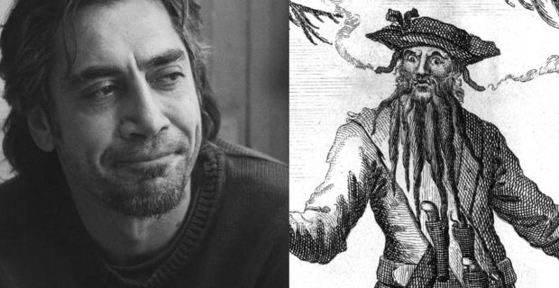 Javier Bardem Blackbeard Javier Bardem May Play Blackbeard in Peter Pan Origin Film