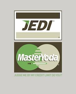 Jedi MasterYoda Star Wars fan art SR Pick: Famous Corporate Logos Get Star Wars Themed