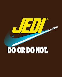 Jedi Star Wars fan art SR Pick: Famous Corporate Logos Get Star Wars Themed