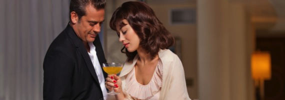 Jeffrey Dean Morgan and Olga Kurylenko Magic City Suicide Blonde Magic City Season 1, Episode 5: Suicide Blonde Recap