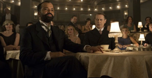Jeffrey Wright and Steve Buscemi in Boardwalk Empire Marriage and Hunting Boardwalk Empire: Marriage of Necessity is Just Business as Usual