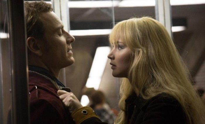Jennifer Lawrence and Michael Fassbender in X Men Days of Future Past 700x425 Mutants Clash in X Men: Days of Future Past Images