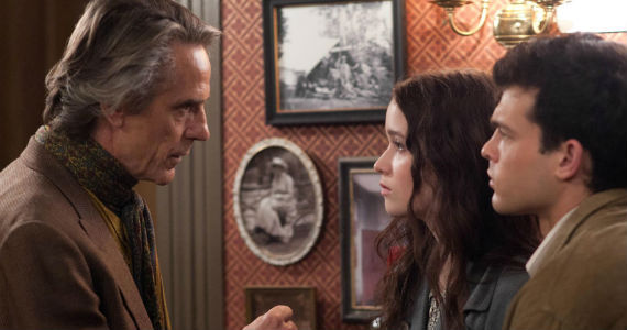 Jeremy Irons with Alice Englert and Alden Ehrenreich in Beautiful Creatures Beautiful Creatures Interview: Cast On Supernatural Drama; Different from Twilight
