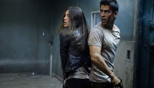 Jessica Biel Colin Farrel Total Recall Total Recall Review
