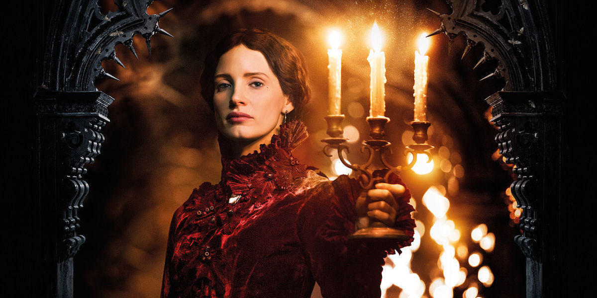 Crimson Peak Jessica Chastain on Cr...