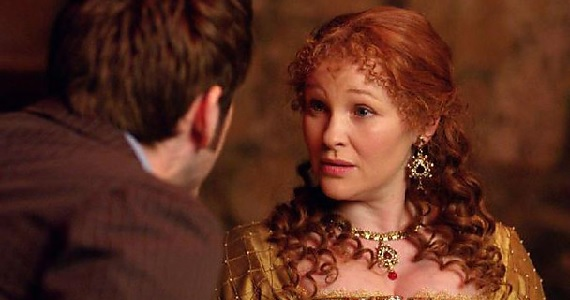 Joanna Page as Elizabeth I in Doctor Who Doctor Who 50th Anniversary Special Images & Plot Details