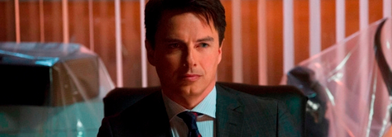 John Barrowman in Arrow Betrayal Arrow Season 1, Episode 13 – Deathstroke the Educator