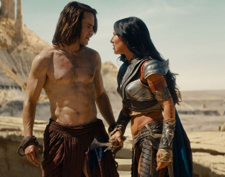 John Carter and Princess Deja Thoris