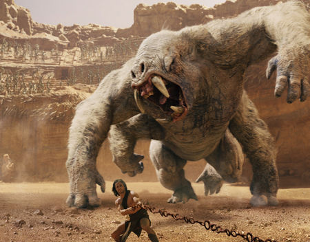 John Carter battles White Apes