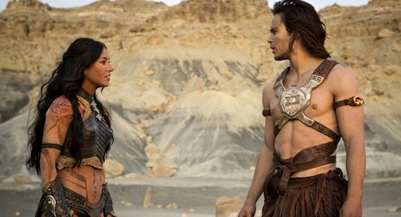 John Carter starring Taylor Kitsch and Lynn Collins Review John Carter Review
