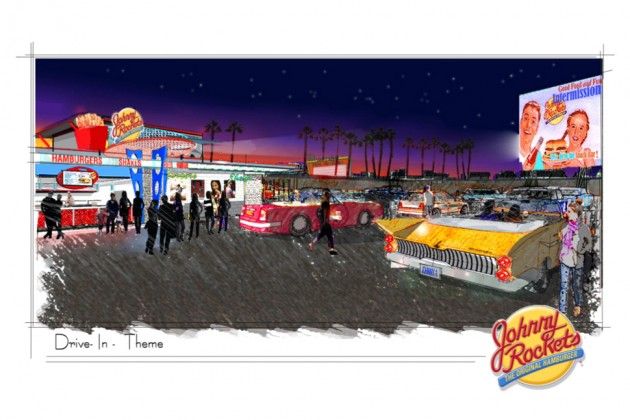 Johnny Rockets Reviving Drive In Theater Chain