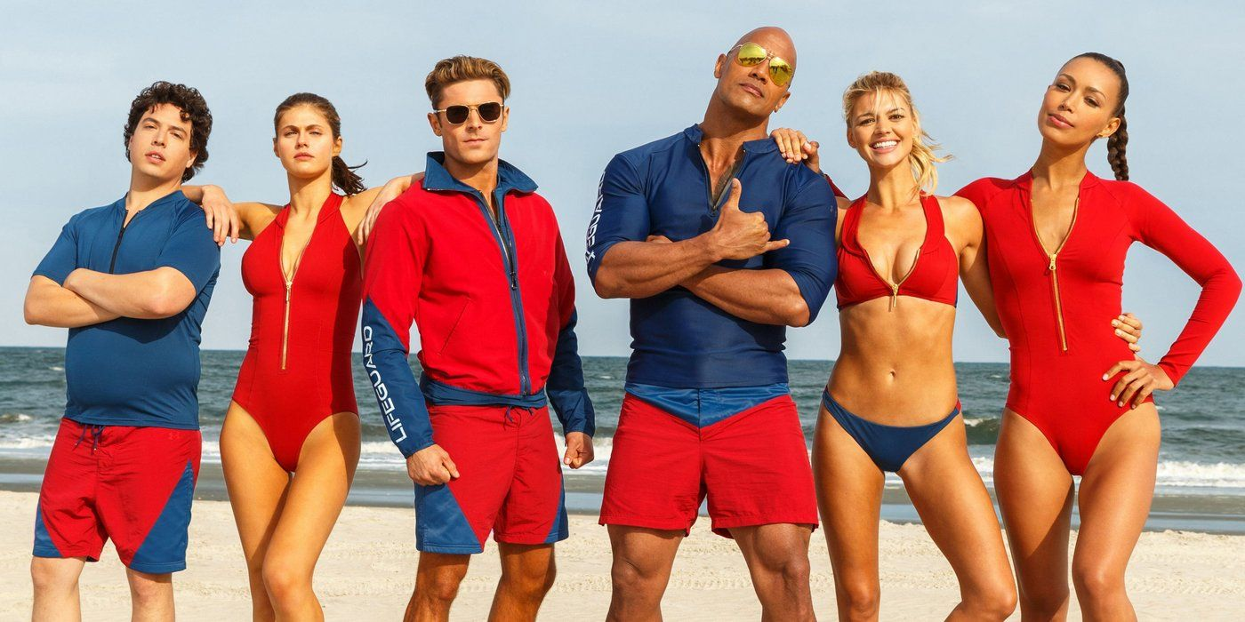 Baywatch Character Posters: Summer is Coming