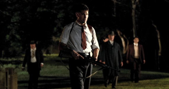 Jon Bernthal in Mob City Season 1 Episode 4 Mob City: Turf Wars & Fresh Produce