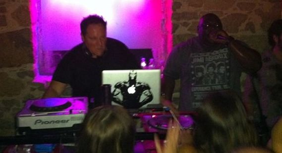 Jon Favreau DJ Comic Con 2011 Party Comic Con 2011: Our Favorite Moments