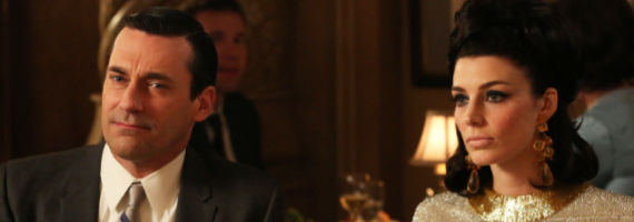 Jon Hamm and Jessica Pare in Mad Men For Immediate Release Mad Men Season 6, Episode 6 Review – How Bout That?