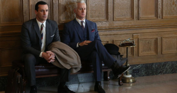 Jon Hamm and John Slattery in Mad Men For Immediate Release Mad Men Season 6, Episode 6 Review – How Bout That?