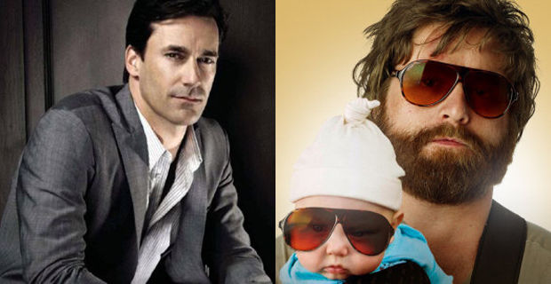 Jon Hamm and Zach Galifianakis Attached to Keeping Up With the Joneses Jon Hamm & Zach Galifianakis Join Undercover Agent Comedy Keeping Up With the Joneses