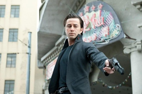 Joseph Gordon Levitt in Looper 570x379 Looper: Rian Johnson & Joseph Gordon Levitt Talk Transforming Into Bruce Willis
