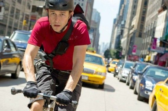 Joseph Gordon Levitt in Premium Rush 570x379 Joseph Gordon Levitt in Premium Rush