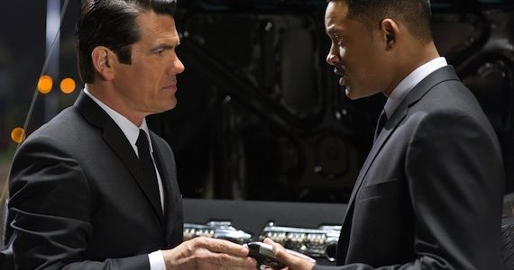 Josh Brolin Will Smith Men in Black 3 Men in Black 3 Review