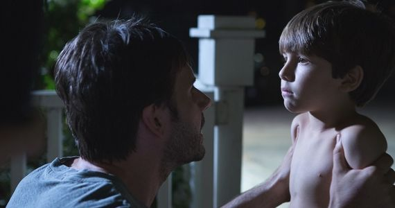 Josh Hamilton and Kadan Rockett in Dark Skies 2013 Dark Skies Review