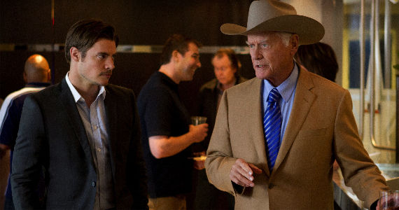 Josh Henderson and Larry Hagman Dallas Truth and Consequences Dallas Season 1, Episode 5: Truth and Consequences Recap