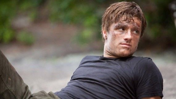 Josh Hutcherson as Peeta Mellark The Hunger Games