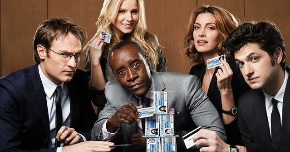 Josh Lawson Kristen Bell Ben Schwartz Dawn Oliveri Don Cheadle House of Lies Showtime Watch Showtime's House of Lies Series Premiere Online