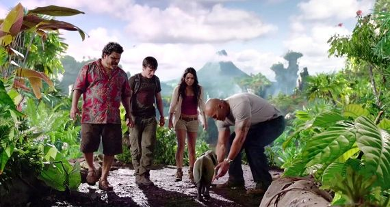 Journey 2 The Mysterious Island Trailer1 Screen Rants (Massive) 2012 Movie Preview
